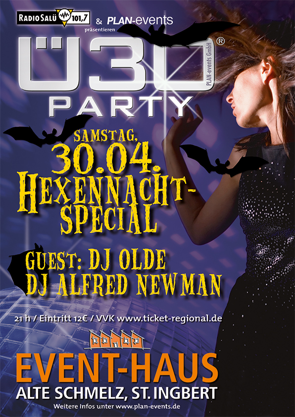 Ü30-Party Hexennacht Special