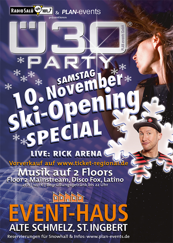 Ü30-Party Ski Opening Special